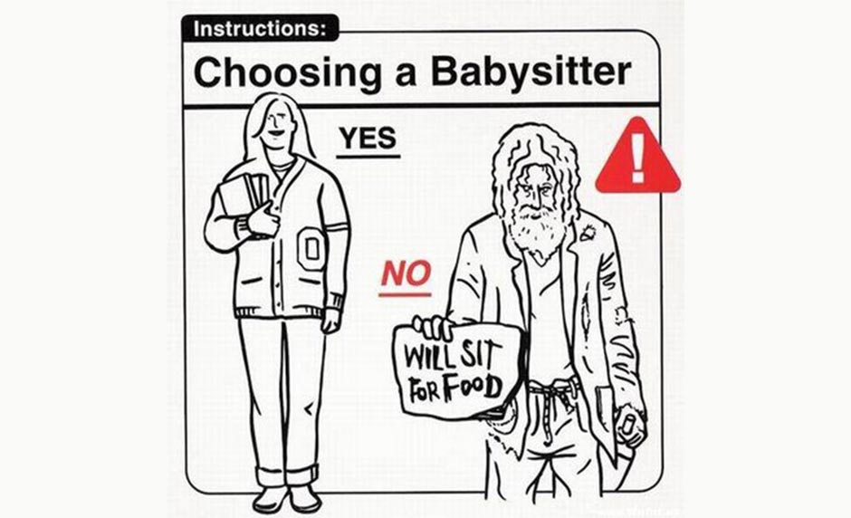 How to Be Wise When Choosing a Babysitter [One Minute Feature]